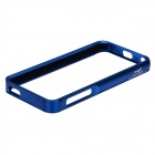 Zomgo Stylish Protective Aluminum Alloy Bumper Case for IPHONE 5 / 5S - Dark Blue