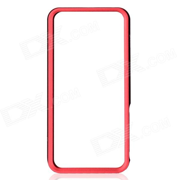 Zomgo Stylish Protective Aluminum Alloy Bumper Case for IPHONE 5 / 5S - Red protective aluminum alloy bumper frame case for iphone 5 rose gold