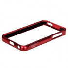Zomgo Stylish Protective Aluminum Alloy Bumper Case for IPHONE 5 / 5S - Red