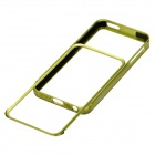 Zomgo Stylish Protective Aluminum Alloy Bumper Case for IPHONE 5 / 5S - Green