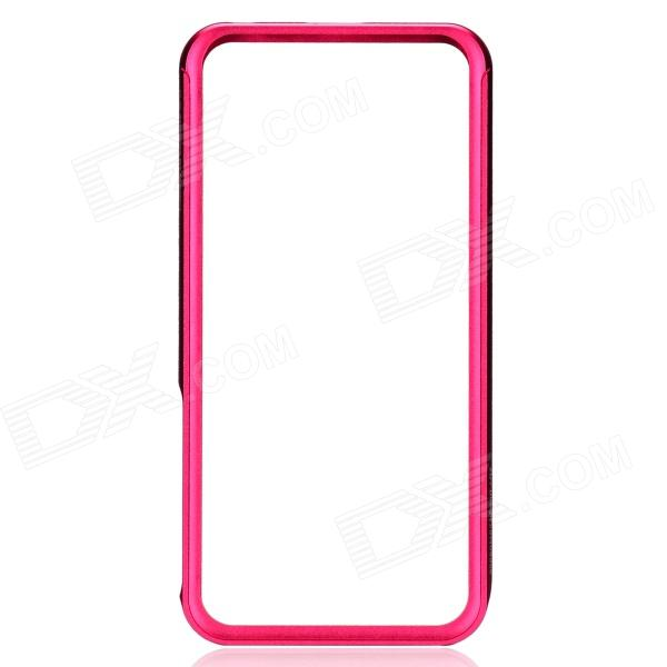 Zomgo Stylish Protective Aluminum Alloy Bumper Case for IPHONE 5 / 5S - Deep Pink 7 inch touch screen digitizer glass sensor panel for texet eplutus g27 free shipping