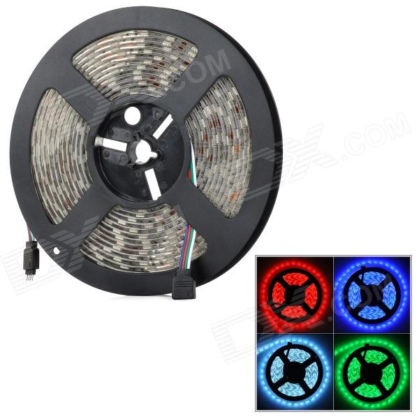 Waterproof 72W 3000lm 300-5050 SMD LED RGB decorativa Light Strip - Branco (5m / DC 12V)