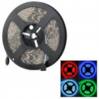 Waterproof 72W 3000lm 300-5050 SMD LED RGB Decorative Light Strip - White (5m / DC 12V)