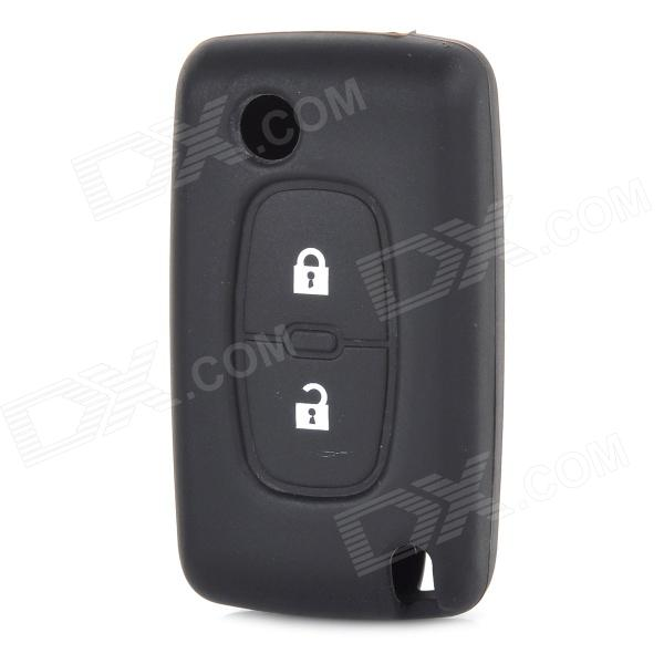 Silicone Car Key Cover for Buick - Black