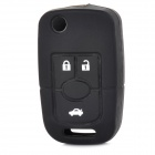 Car Keychain Silicone Cover for Buick / Excelle - Black