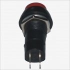CS14A03 DIY 2-Pin Push Switch - Black + Red (2 PCS)