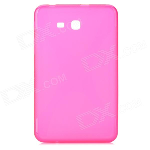 X Style Anti-Slip Protective TPU Back Case for Samsung Galaxy Tab 3 Lite T110 - Deep Pink anti slip tpu joystick thumbstick cap covers for ps4 xbox one red 10 pcs
