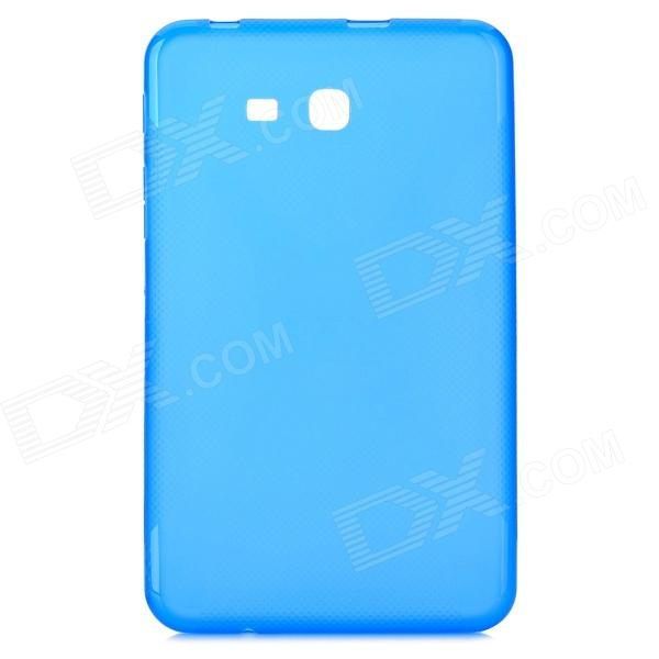 X Style Anti-Slip Protective TPU Back Case for Samsung Galaxy Tab 3 Lite T110 - Blue anti slip tpu joystick thumbstick cap covers for ps4 xbox one red 10 pcs