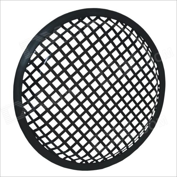 "8"" Iron Audio Speaker Sub Woofer Grill Cover for Auto Car - Black"