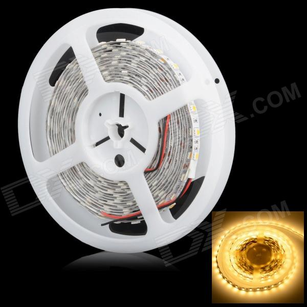 HML SSC 72W 6500lm 3300K 300-5050 SMD LED Warm White Car Decorative Light Strip - White (12V / 5m) цена