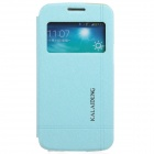 KALAIDENG Protective PU Leather Case Cover Stand for Samsung Galaxy Win Pro G3812 - Blue