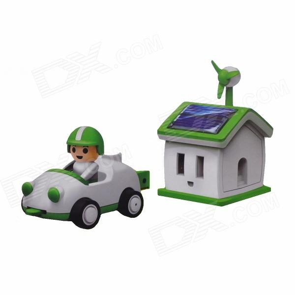 Solar Rechargeable Green Life House and Car Set 100w folding solar panel solar battery charger for car boat caravan golf cart