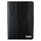 Remax Protective PU Leather + PC Case Stand w/ Auto Sleep Cover for IPAD AIR - Black