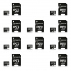Transcend 32GB microSDHC Class 10 133x Flash Memory Cards with Adapter (10 PCS)