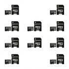 Transcend 8GB microSDHC Class 4 Flash Memory Cards (10 PCS)