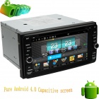 "LsqSTAR ST-6957C 6.95"" Capacitive Screen Car DVD Player w/ GPS, Radio, SWC, AUX for Toyota Series"