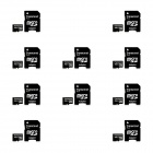 Transcend 4GB microSDHC Class 4 Flash Memory Cards (10 PCS)