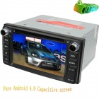 "LsqSTAR ST-6229C 6.2"" Android Screen Car DVD Player w/ GPS, FM, AM, SWC, AUX for Toyota Series"