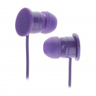 Sibyl M-43 Fashion In-Ear Earphones w/ Cable Management - Purple (3.5mm Plug, 1.2m)
