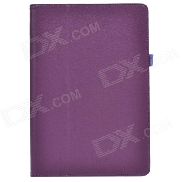 Stylish Lichee Pattern PU Leather Case Cover Stand w/ Pen Holder for ASUS T100TA - Deep Purple new original for asus g751 g751j g751m g751jt g751jl g751jm cpu and gpu cooling fan l r