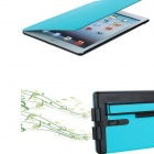 Protective PU Leather + ABS Case Cover for RETINA IPAD MINI - Blue