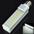 E27 8W 640lm 40-5050 SMD LED Cool White Light Bulb (85~265V)