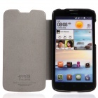 KALAIDENG Beskyttende PU Leather Case Cover Stand for Huawei G730 - Svart