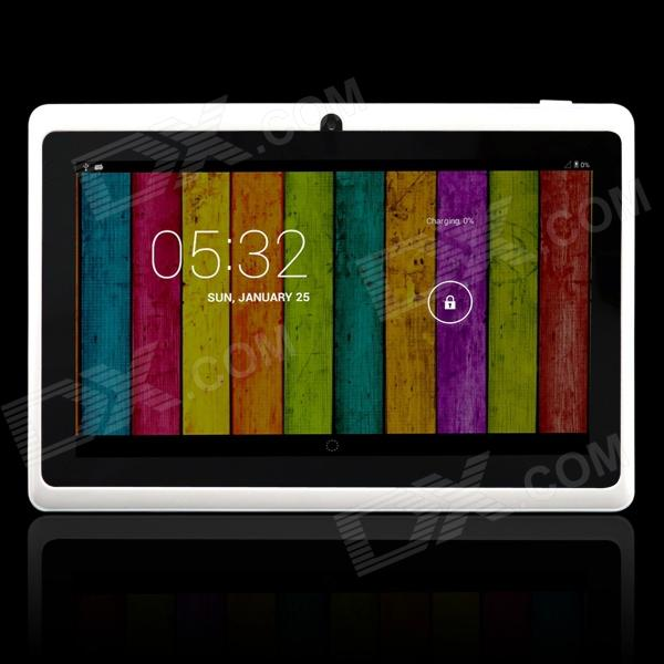 """Kiccy Q8pro 7.0 """"Dual Core Android 4.2 Tablet PC ж / 512 Мб оперативной памяти, 4 Гб ROM, TF Двойная камера - Белый"""