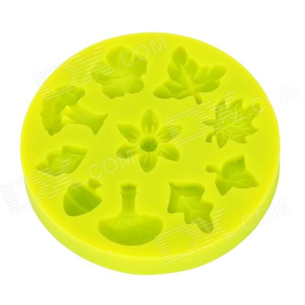 lit LIT Silicone Fondant Cookies / Cakes Baking Mold - Green