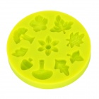 LIT Silicone Fondant Cookies / Cakes Baking Mold - Green