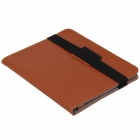 "Universal PU Leather Case w/ Stand / Elastic Band for 8"" Tablet PC - Brown"