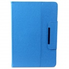 "Protectuve PU Leather Case w/ Stand for 10.1"" Tablet PC - Blue"