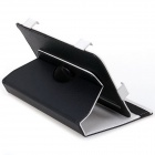 "UA0026601 360 Degree Rotational PU Leather Case w/ Stand for 7"" Tablet PC - Black"