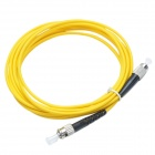 CMI ST-FC Single Mode Sing-core Telecom Fiber Optic Jumper Cable - Yellow (300cm)
