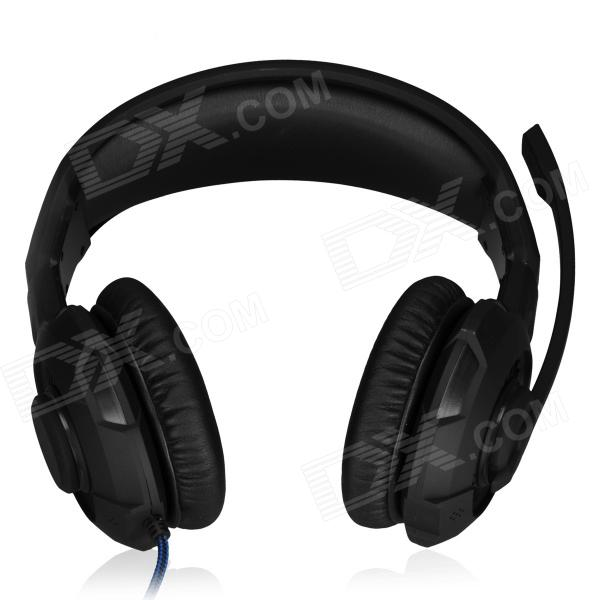 SOUND FRIEND SF-GH400 USB 2.0 Wired Headphones Headset w/ Microphone - Black (190cm-Cable) стоимость