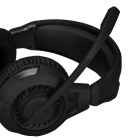 SOUND FRIEND SF-GH400 USB 2.0 Wired Headphones Headset w/ Microphone - Black (190cm-Cable)