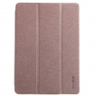 KALAIDENG Protective PU Leather Case Cover w/ Stand for Samsung Galaxy Note 10.1 / P600 - Golden