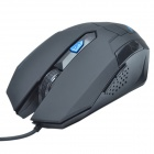 HAVIT HV-MS691 Standard Edition Magisk Eagle USB Wired Optical Gaming Mouse-Svart (163cm-Cable)