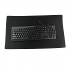 Enorme goma Mouse Pad - Negro