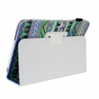 Protective Flip-Open PU Leather Case w/ Stand for Samsung Galaxy Tab 3 P5200 / P5210