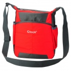 "OKADE T24 Casual Nylon One-Shoulder Bag for 11.6"" Tablet PC / Laptop - Red + Black"