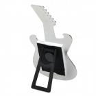Cute Guitar Style Photo Frame - Black + Beige