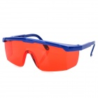 Protective UV400 Outdoor Sports Sunglasses Goggles - Sky Blue + Red