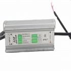 70W IP67 Waterproof 10S7P LED Driver - Grey + Silver (220V / 10 Series and 7 Parallel)
