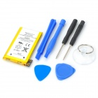 Replacement IPHONE 3G 3.7V 4.51Whr Battery + DIY Repair Tool Set - Silver + Black + Blue + Yellow