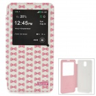 iSecret LOLCSN3BBWHC Protective Flip-open Case w/ Display Window & Stand for Samsung Note3 / N9000