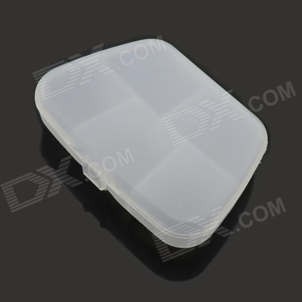 5 Grid Multi-function Storage Box - Transparent