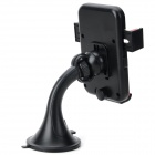 HL-91 a universel 360 degrés rotatif ABS Mobile Phone support a ventouse - noir