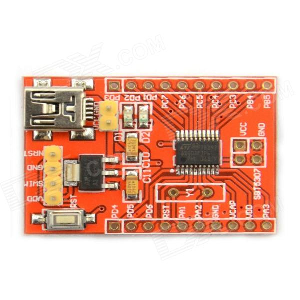 MaiTech STM8S 20 Pin Development Board / Minimal Core Board - Red ic smd vacuum sucking pen easy pick picker up hand tool