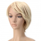 wm91 Fashion Side Bang Short Wig - Buff